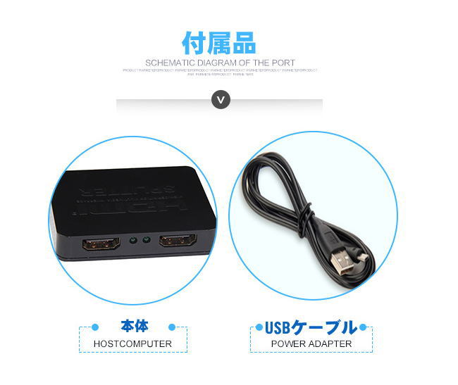 Auc-cg2shop: I Can Output It At 1 TO 2 4K ★ HDMI