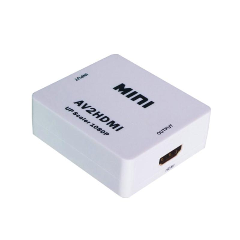 ドライバや電源不要 AV to メーカー在庫限り品 HDMI コンバーター 高画質 ゲーム 1080P 変換器 KZ-AVMI 春の新作シューズ満載 メール便送料無料