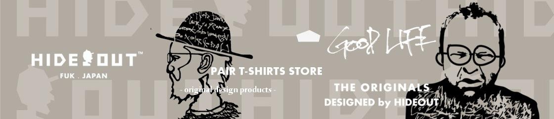 HIDEOUT:パパ・ママ・ベビーの親子ペアTシャツ専門店。出産祝いにも人気。
