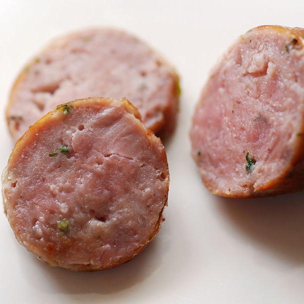 BBQはもちろん セール商品 期間限定特別価格 夕食のメインにハンバーグじゃなくて 焼ソーセージ 生ソーセージ チューリンガーブラートブルスト 1本入り ソーセージ BBQ 約120g バーベキュー 冷凍