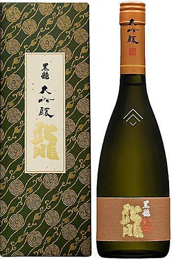 昭和50年生まれ 全国屈指の人気 福井の限定酒 黒龍 龍 720ml 大吟醸 メーカー公式 値下げ
