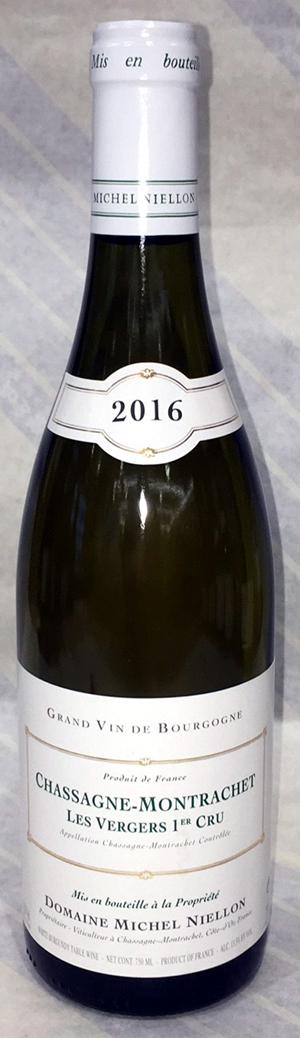2016年 シャサーヌ モンラッシェ1級畑レ・ヴェルジェ (白)750ml ミッシェル・ニーロン