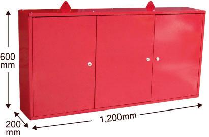 ウォールキャビネット 大人気 赤 ツールボックス 壁掛工具棚 激安特価品 工具箱 道具箱