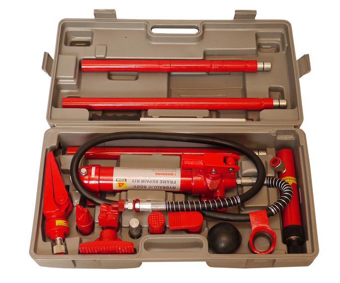ロングラムジャッキ 4ton(ポートパワー・板金・フレーム修正・油圧ジャッキ)