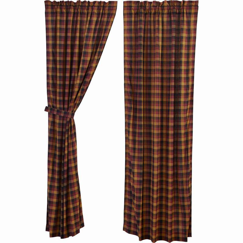 パネルカーテン ヘリテッジファーム(2枚1組)丈213センチ×幅101センチが2枚