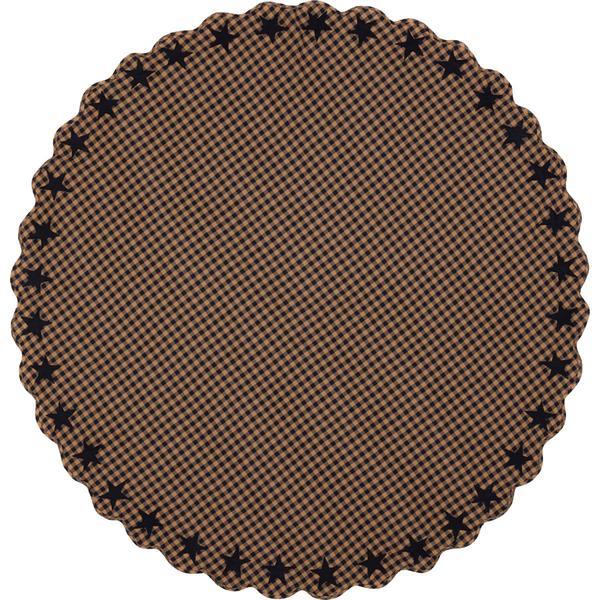 テーブルクロス(円形) ネイビースター(直径約178センチ)