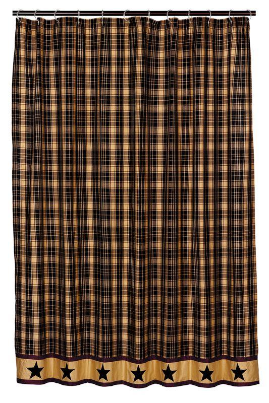 パッチワークカーテン(間仕切りカーテン) ヘリテッジスター ブラック(183センチ×183センチ)