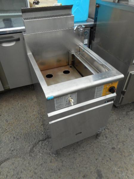 コメットカトウ ゆで麺器 4テボ W50D62H80cm 都市ガスCMR-2-4【中古】