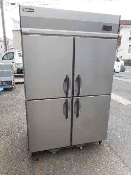 ダイワ 462CD 4ドア冷蔵庫 W120D80H190cm 200V コンプ12年製【中古】