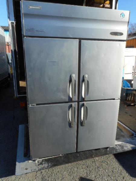 ホシザキ 1065L 冷蔵庫 4ドア HF-120X3 06年 200V 業務用【中古】