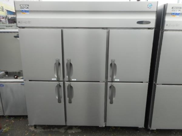 ホシザキ 6ドア冷蔵庫 HR-180X3 200V インバーター W180D80H190【中古】