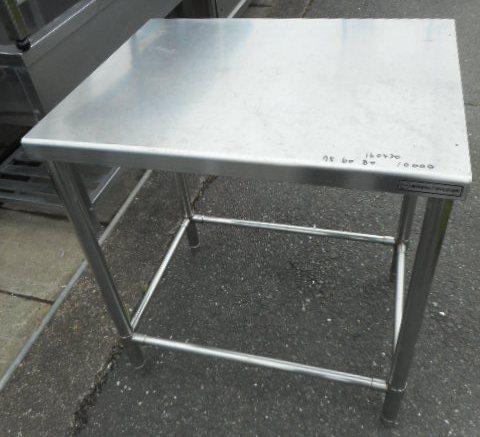 業務用 ステンレス 作業台 W75D60H80cm 厨房【中古】