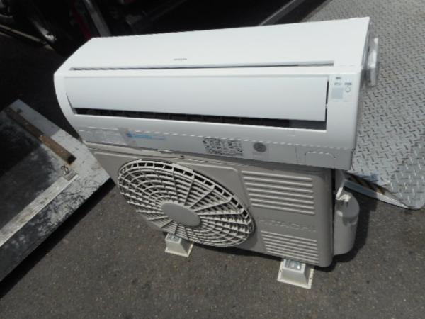 12年製 日立 2.8kw エアコン RAS-R28A 白くまくん 10畳【中古】
