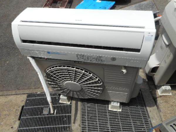 13年製 日立 2.8kw エアコン RAS-R28B 白くまくん 10畳【中古】