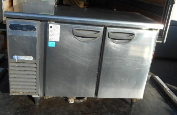 09年製 フクシマ 冷蔵 コールドテーブル TRC-40RE1-F W120D60H80【中古】