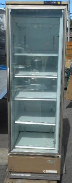 07年製 フクシマ 冷凍 リーチイン ショーケース W60D65H190cm 292L 棚5段 3相200V (営業所止)【中古】
