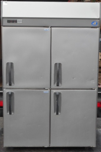 2013年製 パナソニック 4ドア 冷凍冷蔵庫 縦型 SRR-K1283C2 W120D80H195cm 1026L 3相200V 2凍2蔵 (営業所止め商品) 133kg【中古】