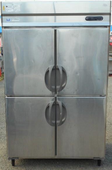 2009年製 フクシマ URD-44FM1-F 業務用 縦型 4ドア 冷凍庫 100V W120D80H195cm 1083L ワイドスルー 140kg (西濃営業所止め商品)【中古】