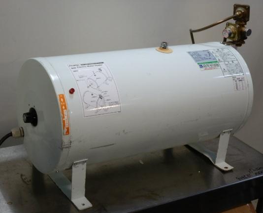 2012年製 イトミック 電気 温水器 ES-30N3 単相200V 仕様 2kw 30L W745 D328 H472mm 30~75度 給湯器【中古】