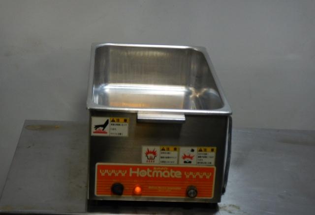 1 ニチワ ホットメイト NH-60A 卓上 小型 電気 ウォーマー 100V 600W W250D416H190mm フード おでん 酒 スープ カップ【中古】