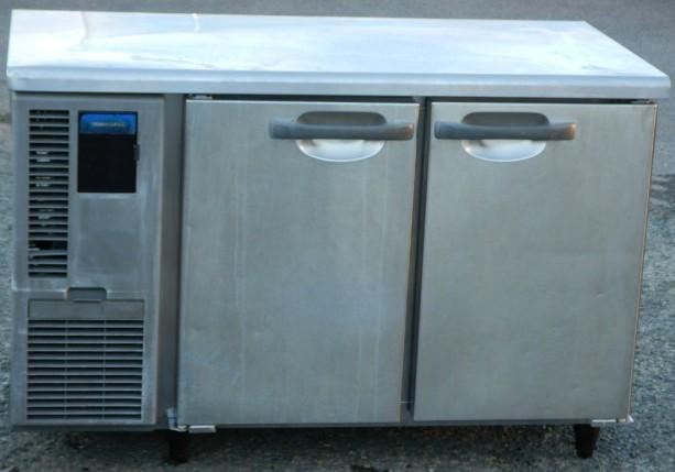2011年製 ホシザキ 冷蔵コールドテーブル RT-120SNF W120D60H80cm 240L 70kg 台下冷蔵庫 きず有【中古】