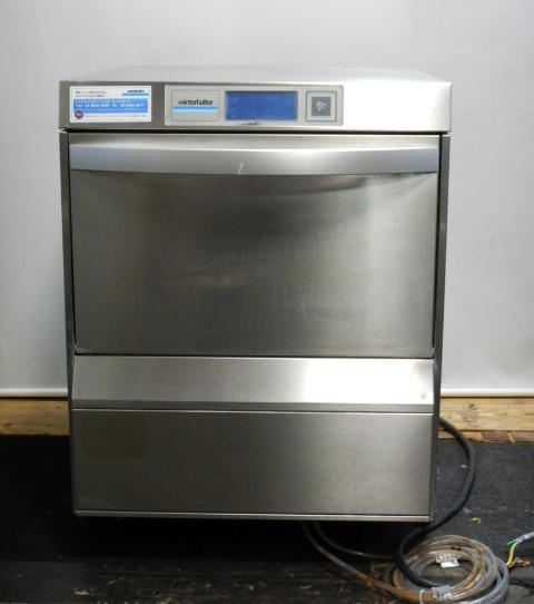 2010年製 ウィンターハルター UC-M 食器洗浄機 アンダーカウンター グラス 洗浄 3相200V 50Hz W60D60(+4)H73cm タッチパネル【中古】
