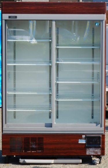 2013年製 ホシザキ リーチイン 冷蔵 ショーケース RSC-120CT-1 B W120D45H190cm 463L 100V 135kg (西濃運輸営業所止め商品)【中古】