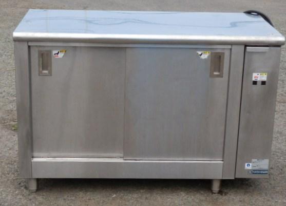 2007年製 ニチワ ディッシュ ウォーマー EDT-1200AS 3相200V 1.3kw W120D60H80cm 58kg 温蔵庫サーモ付【中古】