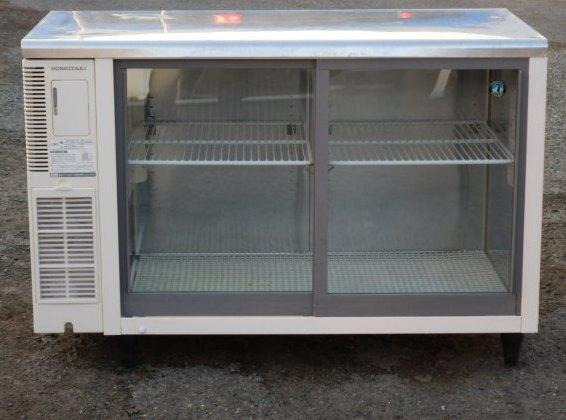 2006年製 ホシザキ RTS-120SNB コールド テーブル 形 冷蔵ショーケース W120D60H80cm 310L 69kg 100V【中古】