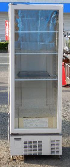 2007年製 ホシザキ USB-63B リーチイン 冷蔵ショーケース 348L W63D65H188cm 88kg 左開き 棚3段(西濃営業所止め)【中古】