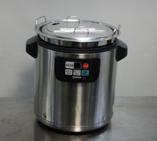 象印 マイコン スープ ジャー TH-CS080 8L 乾式 内鍋直火可能 W365D315H375mm 5.5kg ウォーマー ケトル 2003年製【中古】