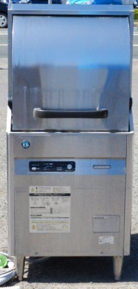2014年製 ホシザキ JWE-450RUA3 食器洗浄機 3相200V W60D60H134cm 正面 小型ドアタイプ 69kg【中古】