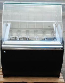 2014年製 カルピジャーニ JET 100 ジェラート ショーケース LED照明 10バット 3相200V W1040D990H1351mm 冷凍庫 212kg(西濃営業所止め)【中古】
