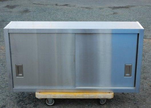 1 業務用 ステンレス 吊戸棚 W120 D30 H60 cm 厨房 食器庫 W1200 棚1段 吊り戸【中古】【店頭受取対応商品】
