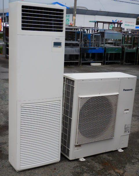 2015年製 PA-P80B4Xパナソニック 業務用 業務用 パッケージ エアコン エアコン 床置形 3馬力 3相200V シングル 省エネ 3相200V 高効率インバーター(個人宛配送不可)【中古】【店頭受取対応商品】, 南淡町:294d6066 --- sunward.msk.ru