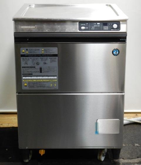 2013年製 ホシザキ JWE-400TUA3 食器洗浄機 3相200V W60D60H80cm フロントパネル ドア新品 61kg アンダーカウンター【中古】【店頭受取対応商品】