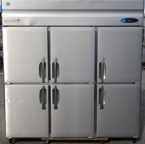 2011年製 ホシザキ HR-180Z3 6ドア 縦型 冷蔵庫 1644L W180D80H190cm 3相200V 169kg インバーター (西濃営業所止め)【中古】【店頭受取対応商品】