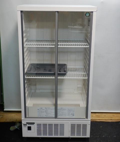 2010年製 ホシザキ 冷蔵ショーケース SSB-70CT1 棚2段 W70D45H138cm 55kg 210L 中ビン120本【中古】【店頭受取対応商品】