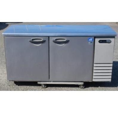2012年製 サンヨー 冷蔵 コールドテーブル SUR-G1561SA-R W150D60H80cm 328L 100V 78kg 台下 冷凍 冷蔵庫【中古】【店頭受取対応商品】