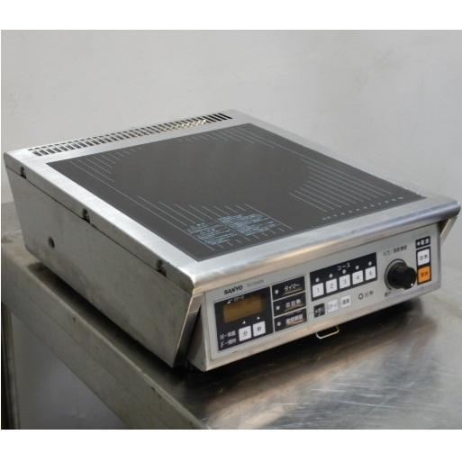 2010年製 サンヨー TIC-C310TE 業務用 1口 IH コンロ 3kw 単相200V 卓上 W350D450H130mm 電磁調理器【中古】【店頭受取対応商品】