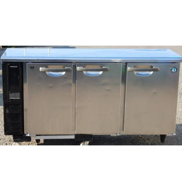 2010年製 ホシザキ 冷蔵 コールドテーブル RT-150PTE1 W150D45H80cm 240L 100V 56kg 台下 冷蔵庫【中古】【店頭受取対応商品】