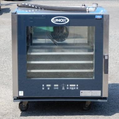 2012年製 FMI XB-605 スチーム コンベクション オーブン ベーカリー600×400欧州天板 6段 3相200V 11kw W865D880H825mm 91kg(営業所止め)【中古】【店頭受取対応商品】