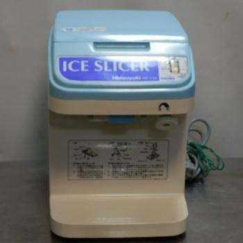 2003年製 中部 HC-15A 初雪 キューブ アイス スライサー かき氷 中古 店頭受取対応商品 記念日 お気に入 カキ氷 W270D295H370mm 13kg 100V