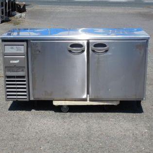 2013年製 フクシマ 冷蔵 コールドテーブル YRC-150RE W150 D60 H80cm 327L 85kg 100V 台下 冷蔵庫 RT-150SNF【中古】【店頭受取対応商品】