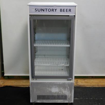 1998年製 サンデン MUS-W47XB 冷蔵ショーケース W50 D40 H116cm 93L 48kg 棚2段【中古】【店頭受取対応商品】