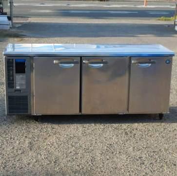 【中古】2017年製 ホシザキ 冷蔵 コールドテーブル RT-180MNF-ML W180D60H80cm 417L 100V 86kg 台下 冷蔵庫