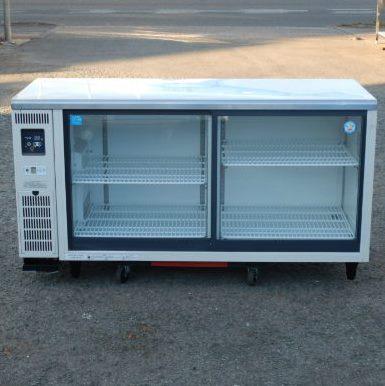 中古 2015年製 フクシマ TGC-50RE コールド テーブル 形 パッキン新品 冷蔵ショーケース 388L W150D60H80cm 今だけ限定15%OFFクーポン発行中 感謝価格 LGC-50RE 100V 95kg
