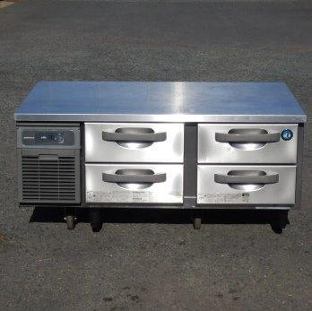 世界の人気ブランド 中古 2019年製 ホシザキ お金を節約 冷凍 低 ドロワー コールドテーブル FTL-120DDCG 98kg 1ホテルパン 代引き不可 90L W120D75H55cm 1 引出し 100V