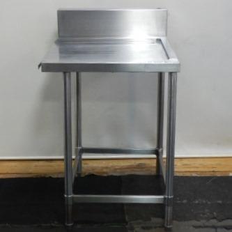 本日の目玉 中古 業務用 ステンレス 作業台 売買 クリーン テーブル W60 +2.5 cm 用 D69 食洗機 H85 +15 食器洗浄機 ソイルド
