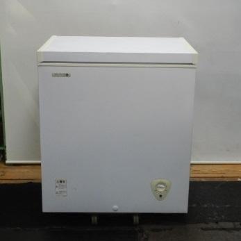 中古 アイテム勢ぞろい 2010年製 ノーフロスト JH140CR 冷凍 ストッカー アイス チェスト 140L フリーザー W725D560H825mm 冷凍庫 本物